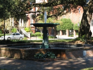 Lafayette Square Fountain, Savannah, GA