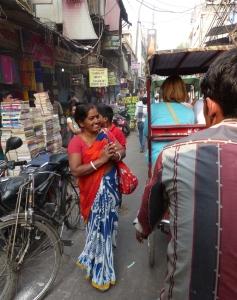 Chandni Chowk shopper