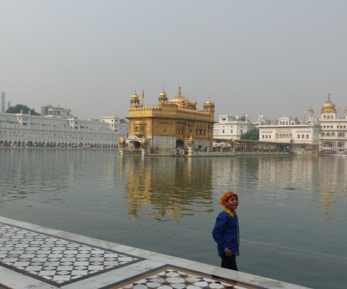Golden Temple smile