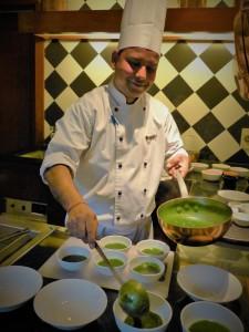 Chef Arun Kala at Ananda Spa