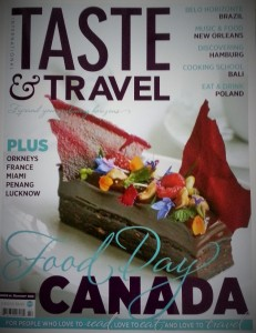 Taste & Travel, Summer 2016