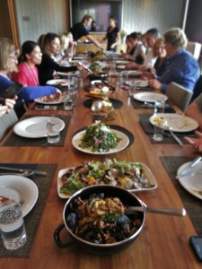 Lunch at Manteo Resort