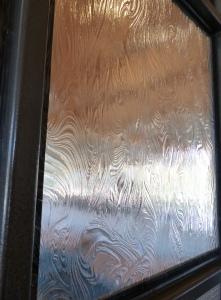 Seasons glass - closeup