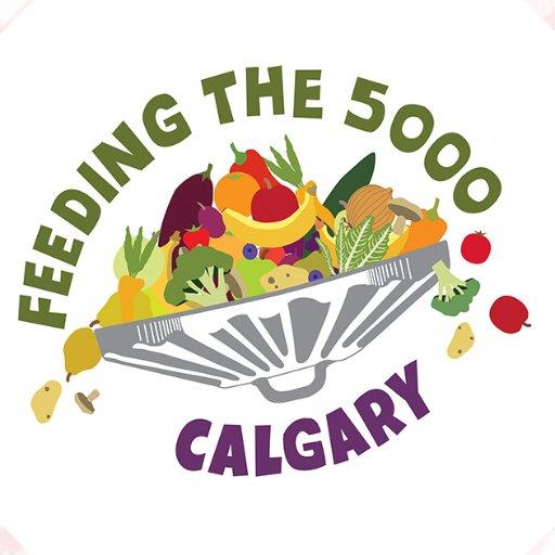 Feed the 5000 Calgary logo