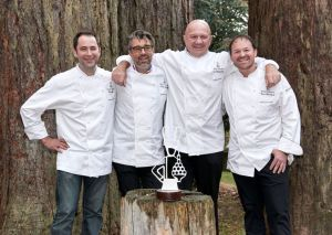 Yann Blanchard and colleagues at Relais Dessert Association