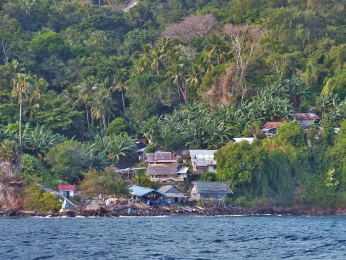 Village on Serua island