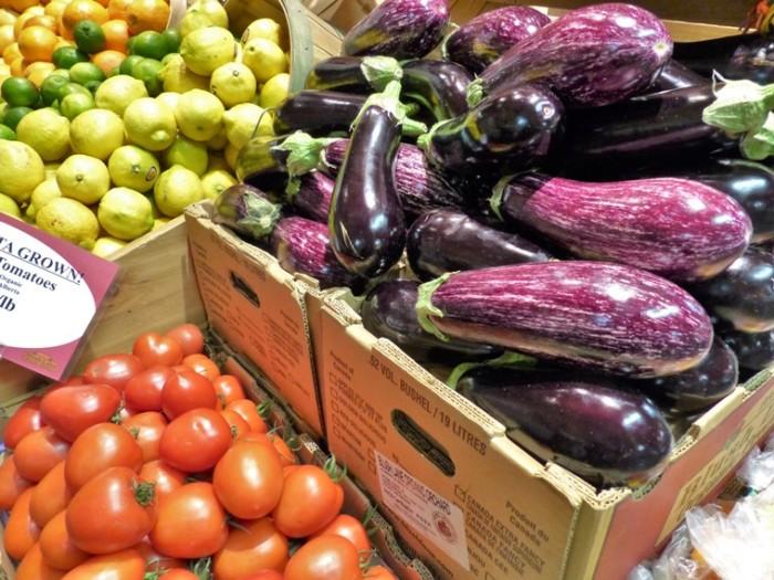 Calgary Farmers' Market produce