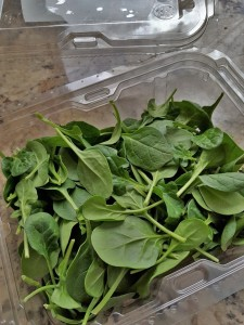 Spinach container