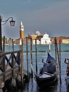 Gondola at the dock