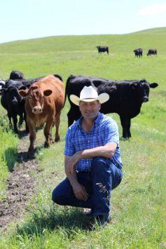 Calvin Raessler of Top Grass Cattle Company